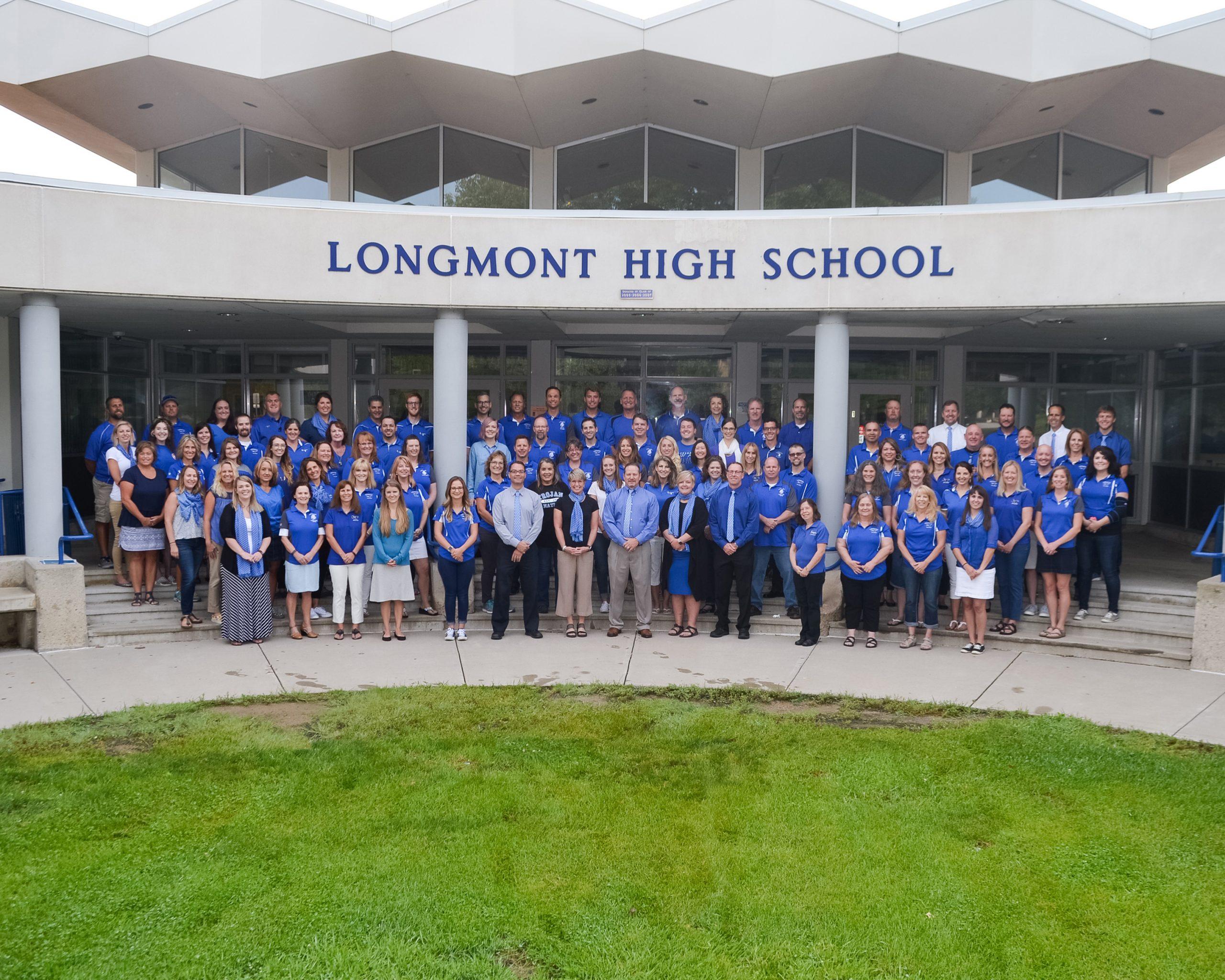 Longmont High School Staff